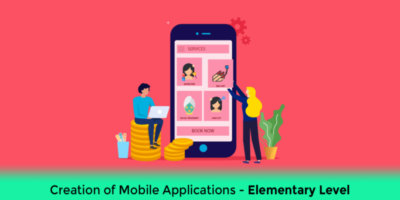 Course in Creation of Mobile Applications with King of App – Elementary Level