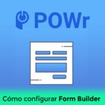 Cómo configurar Form Builder